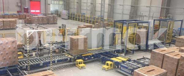 Logistik Lagerhäuser
