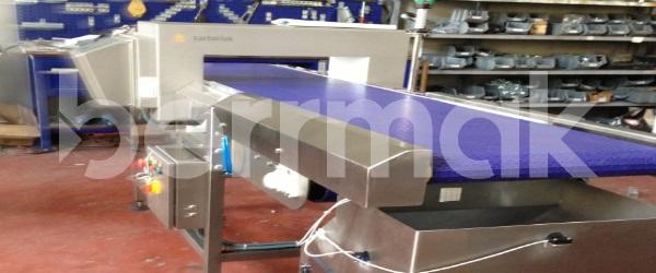 Fördersysteme mit Metalldetektoren